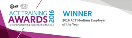 ACT training awards winner 2016 logo